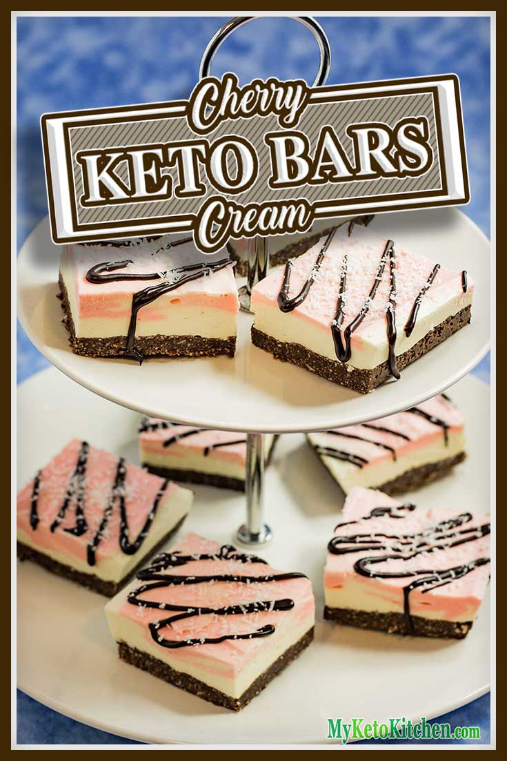 Keto Bars Recipe Chocolate Cookie Cream