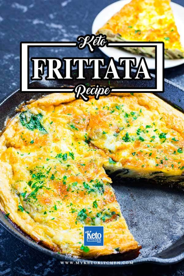Keto Frittata Low-Carb Breakfast Recipe