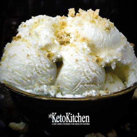 Low Carb Cheesecake Ice Cream Recipe