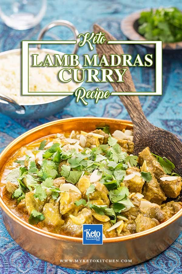 Keto Lamb Madras Curry Recipe