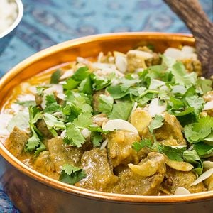 Low Carb Lamb Madras