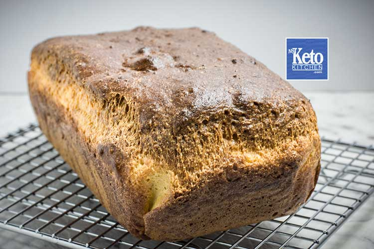 How to make fresh baked keto bread