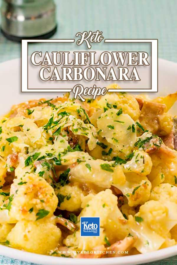 Keto Carbonara Recipe