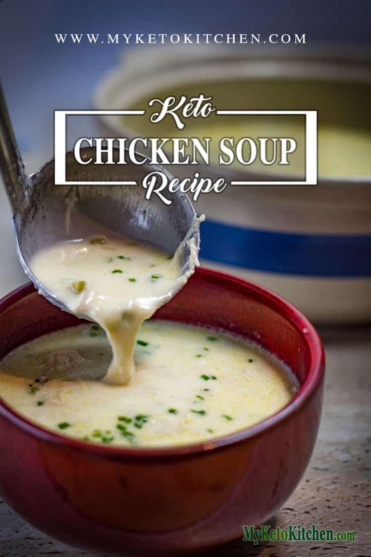 cream of keto chicken soup recipe
