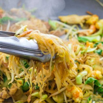 "Keto Noodles Recipe – Low Carb ""Singapore Stir Fry"" – EASY to Make Taste of Asia!"