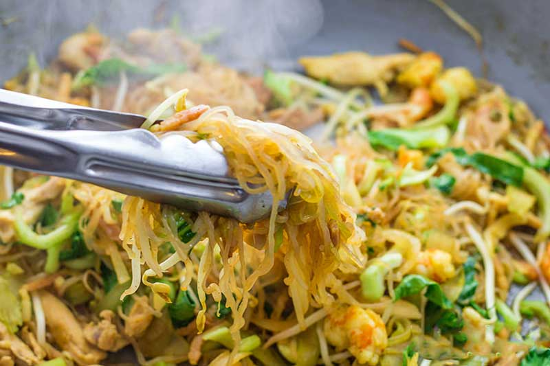Keto Asian Noodles Recipe Low Carb Stir Fry