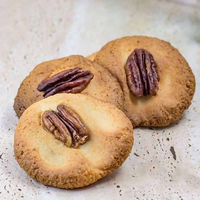 Keto Pecan Cookies