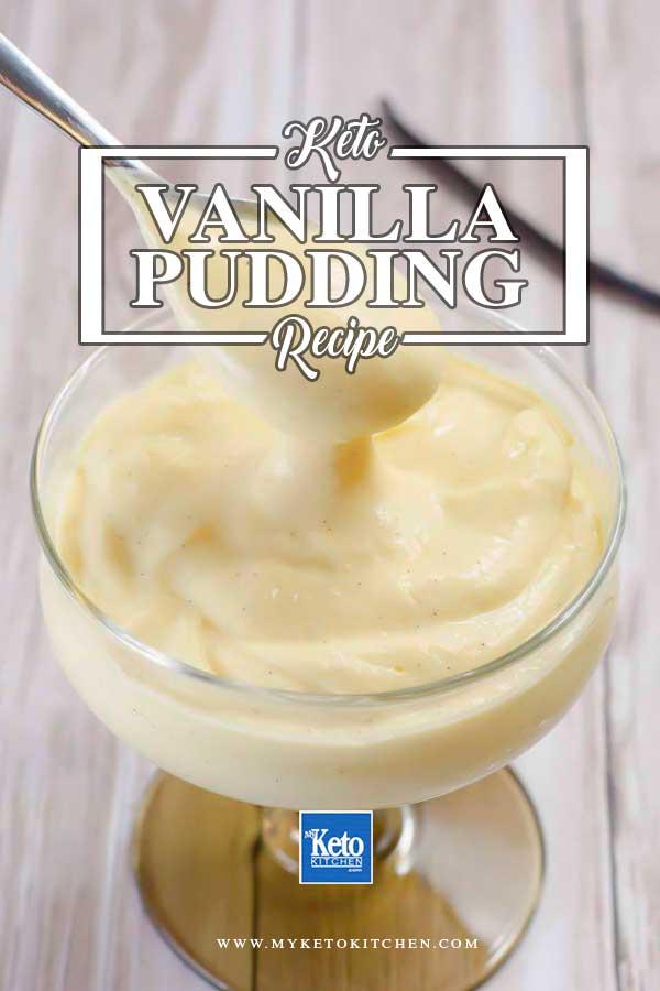 keto pudding recipe
