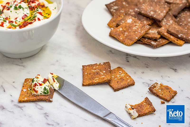 Keto Pepper Crackers Recipe