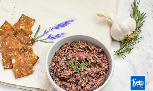 Tapenade Recipe – Low Carb Olive & Garlic Savory French Dip