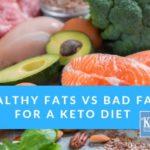Keto Diet: Good Fats V's Bad Fats for Optimum Health