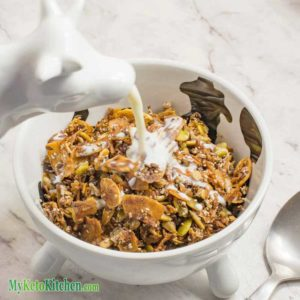 how to make keto cereal