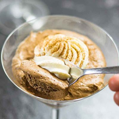 Keto Mocha Coffee Mousse – Low Carb Silky & Smooth