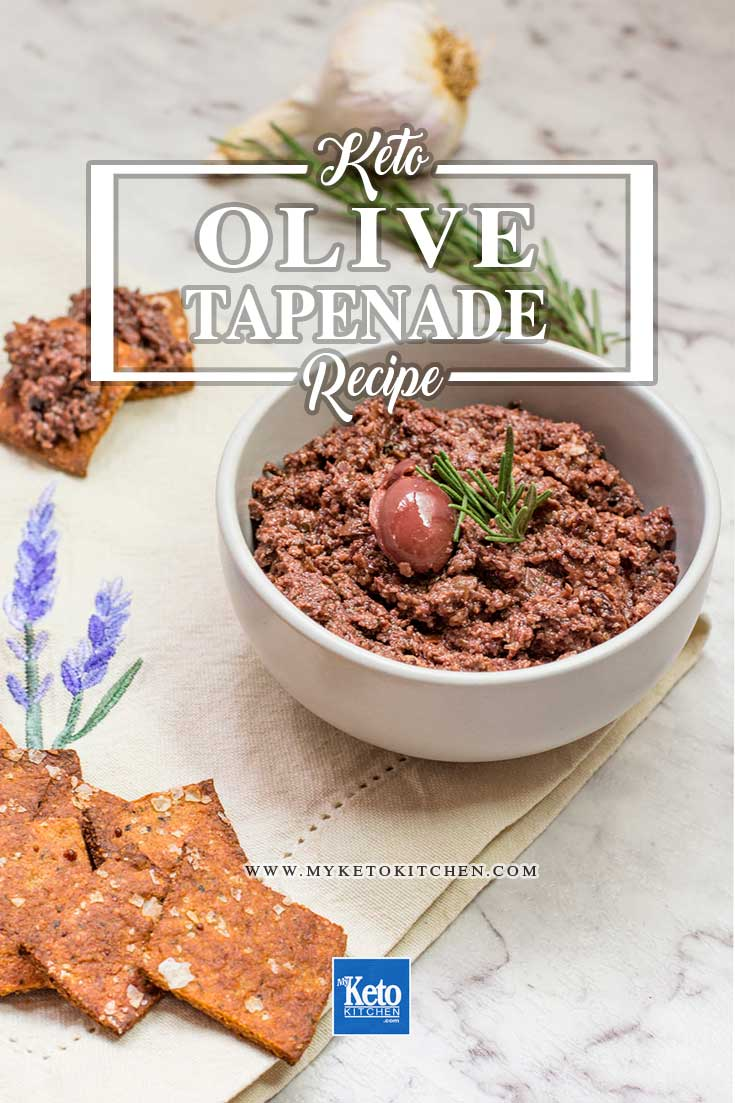 Tapenade Recipe Olive and Garlic French Dip.
