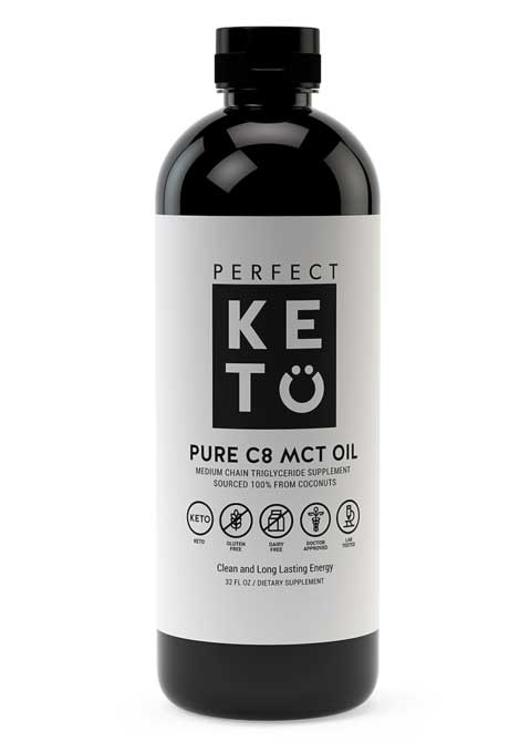 perfect keto mct oil ketone supplement