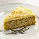 Keto Spice Cake Recipe slice