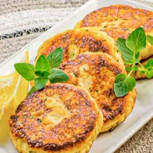 Ricotta and parmesan cheese fritters recipe