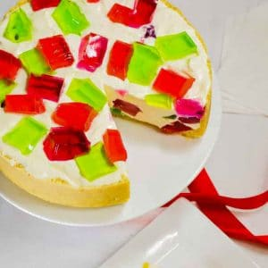 Keto jello cheesecake