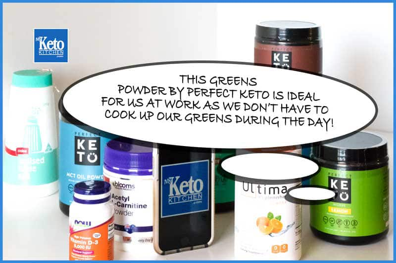 powdered greens keto supplement