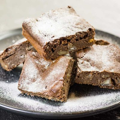 Low-Carb Brownies Recipe – Sugar-Free Chocolate Macadamia Nut