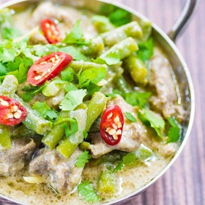 Keto Coconut Pork Curry – Thai Inspired Recipe
