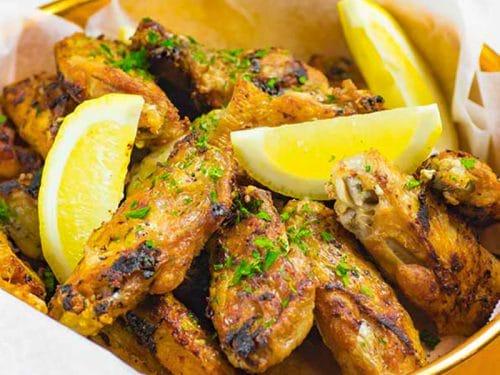 Best Keto Chicken Wings Recipe Pan Fried Crispy Garlic