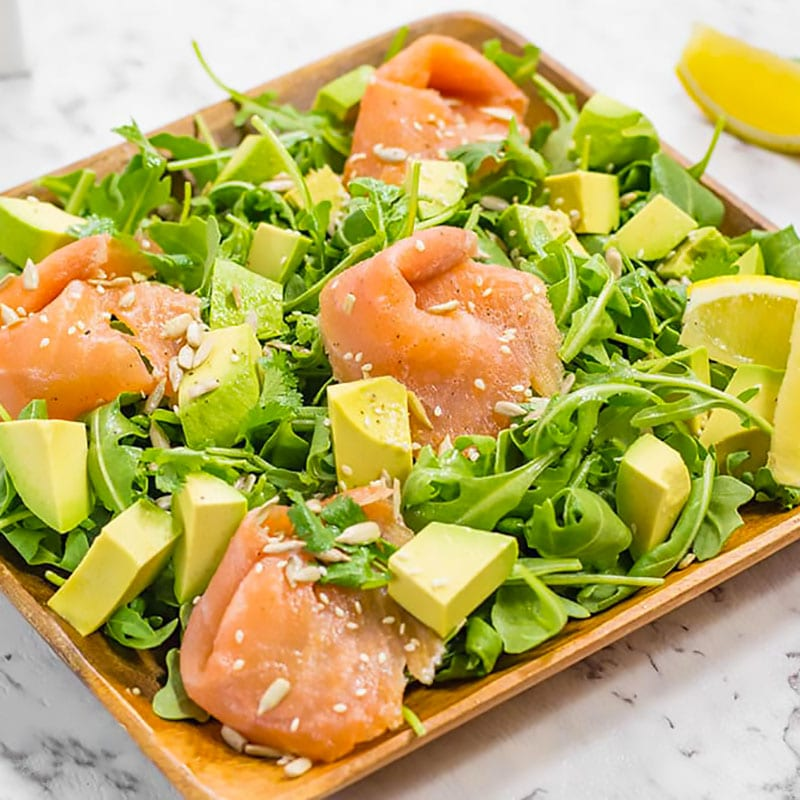 Smoked Salmon Avocado Salad Recipe