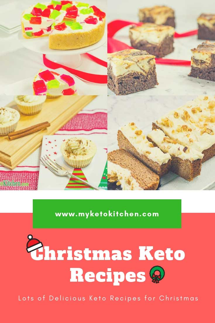 Keto Christmas Recipes Dinner Treats Desserts Low-Carb