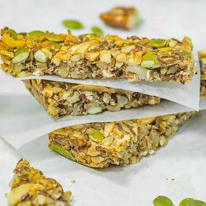 Keto Granola Bar Recipe