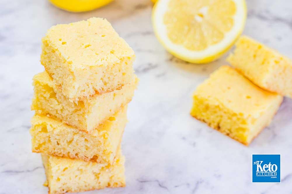 Keto Almond Flour Blondies Recipe