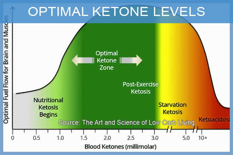 Good ketone levels for ketosis