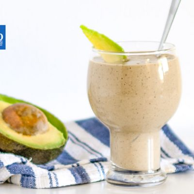 "Keto Shake Recipe – Chocolate & Avocado – ""Thick & Creamy"" – with MCT's Collagen & Chia"
