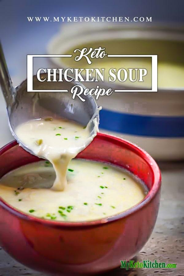 Keto Homemade Cream of Chicken Soup