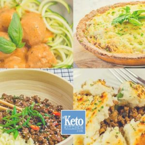 17 Keto Ground Beef / Mince Meat Recipes