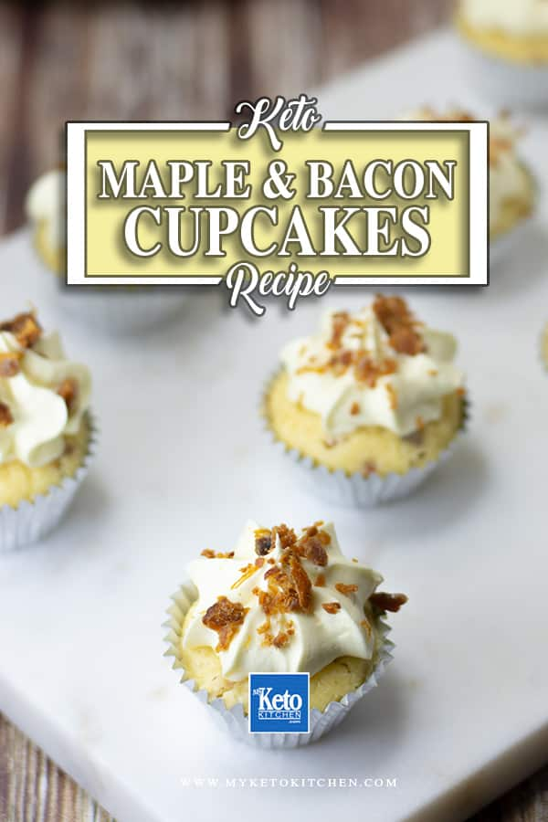 Keto Maple and Bacon Cupcakes Low-carb Recipe