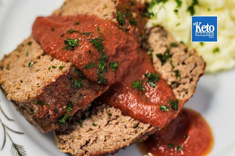 "Keto Meatloaf Recipe – ""Tender & Juicy"" – Easy To Make Just Bake!"