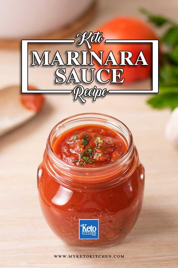 Keto Marinara Sauce for Pizza