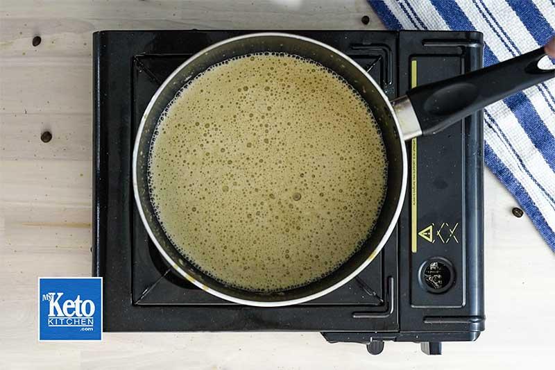 How to make keto vanilla latte