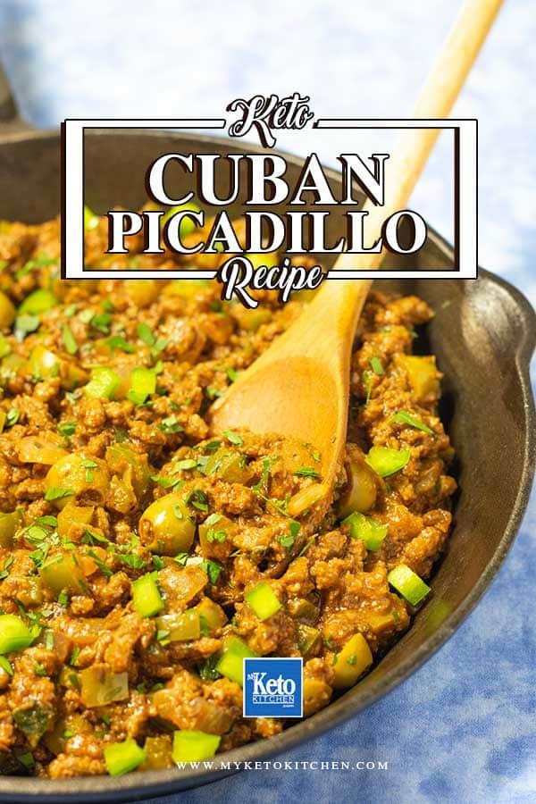Keto Cuban picadillo recipe