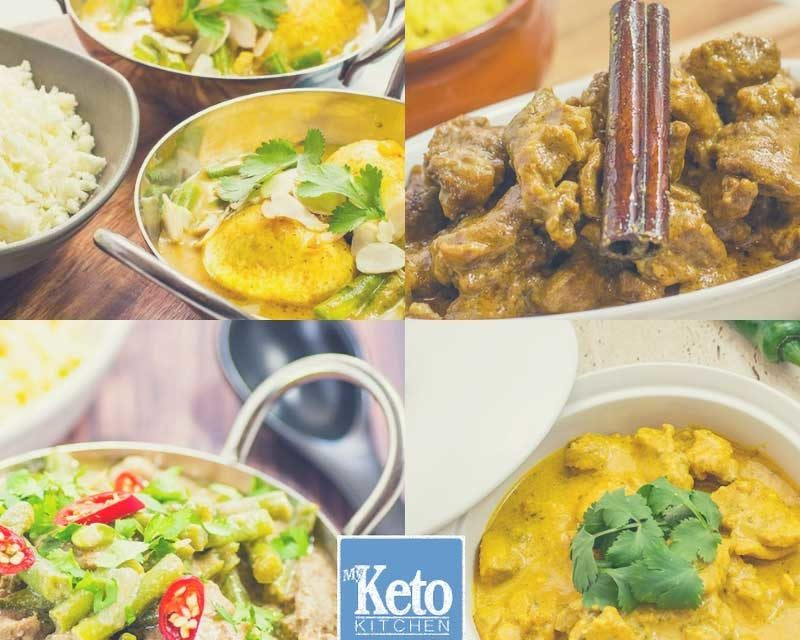 "Keto Curry Recipes – Our Best ""Spicy"" Low-Carb Creations – Warm & Tasty!"