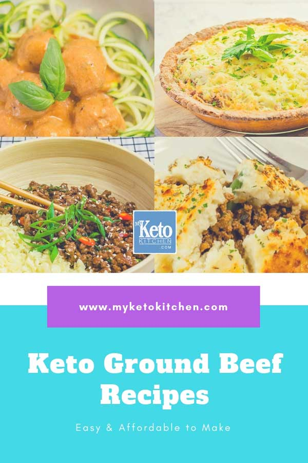 Keto Ground Beef (minced meat) Recipes