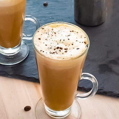 Keto Latte Recipe, Vanilla Flavor – Delicious Hot & Creamy Fat Burning Energy Drink
