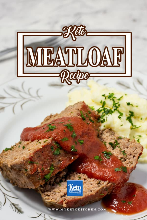 Keto Meatloaf Recipe with Low-carb Ingredients