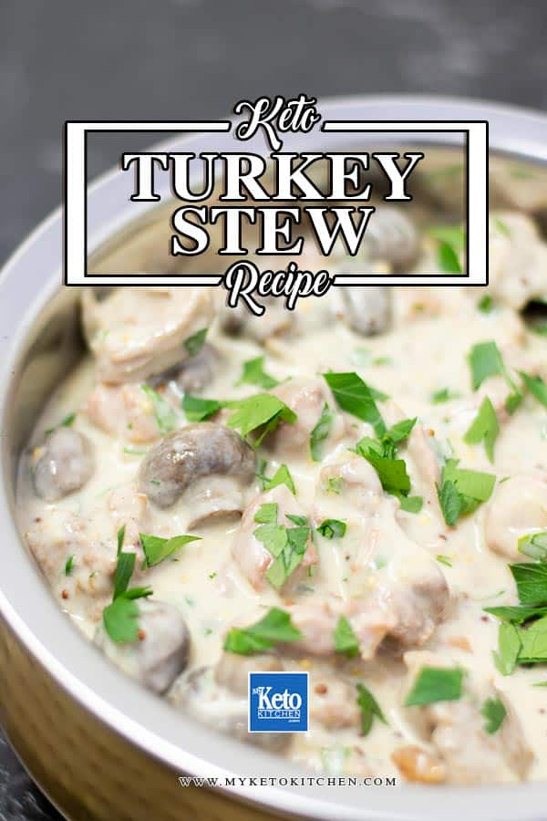 Keto Turkey Stew Ingredients