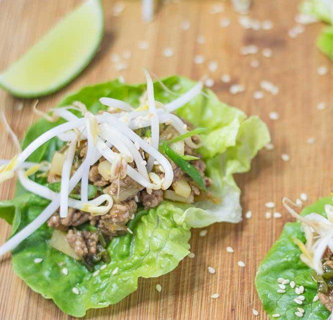 Keto San Choy Bau Recipe – Healthy Ground Pork Recipe