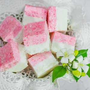 Keto Candy Coconut Ice