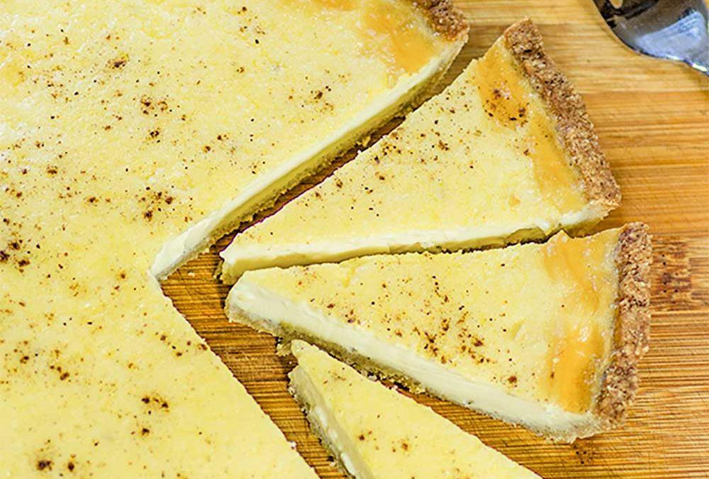"Keto Custard Pie (aka Tart) Recipe – ""Low Carb CRUST"" – Creamy &  Delicious"