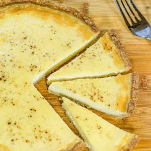 Keto Custard Pie