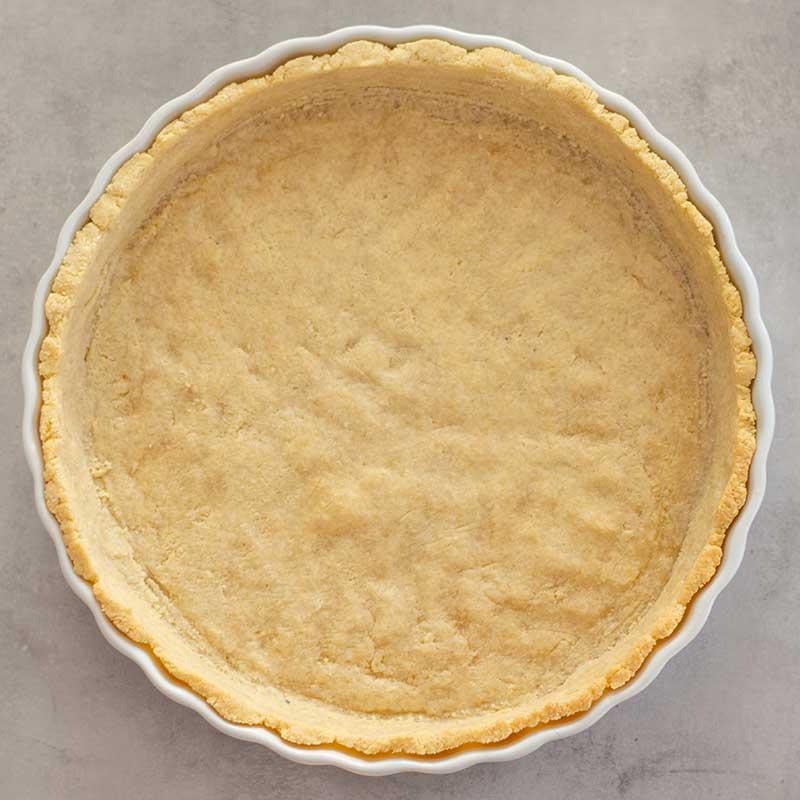 Keto Quiche Crust - Gluten free pastry recipe