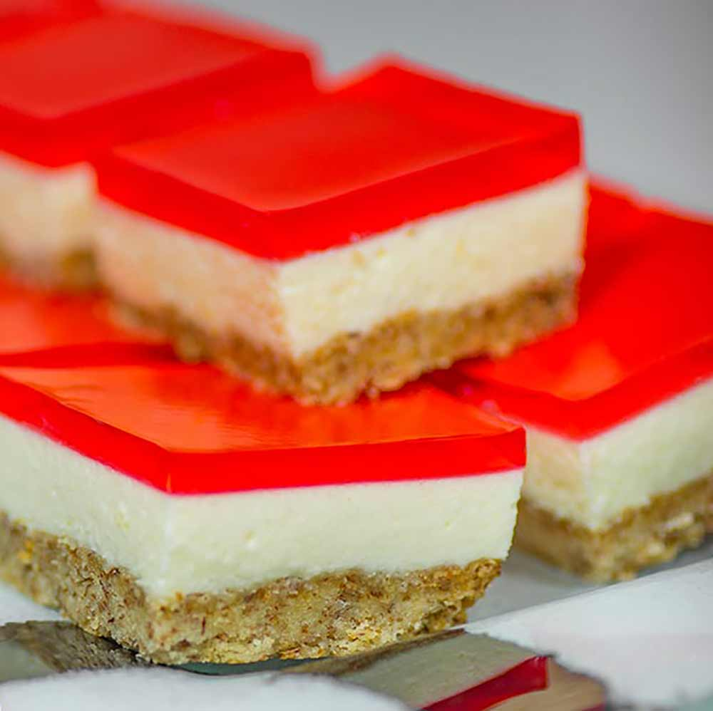 Low Carb Jello Bars Recipe